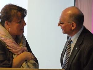 Tine Aurvig-Huggenberger og Niels Due Jensen