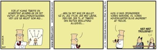 Dilbert lancerer ny IT-sytrategi